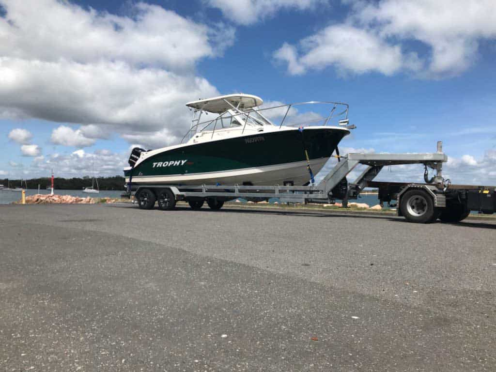 New and used boat transport service from Slip Away transportation in Sydney