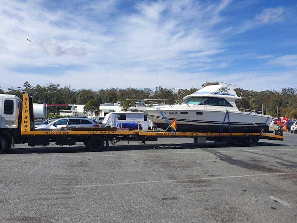 Slip Away Boat Transport from Sydney to Brisbane or Melbourne