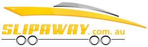 The Slip Away Boat Transport Logo