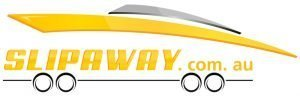 The Slip Away boat transport service logo
