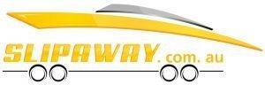 The Slip Away boat transport service logo