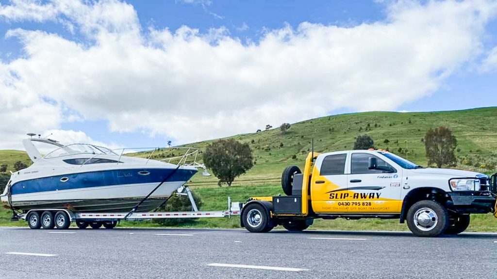 BOAT HAULAGE FOR CRUISER VESSELS