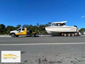 Grays Online Auction Slip Away boat transport company can move Arvor 805 fishing boats in Australia by road to Batemans Bay