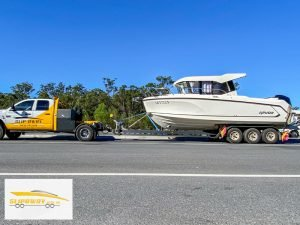 Slip Away boat transport company can move Arvor 805 fishing boats in Australia by road to Batemans Bay or Noosa